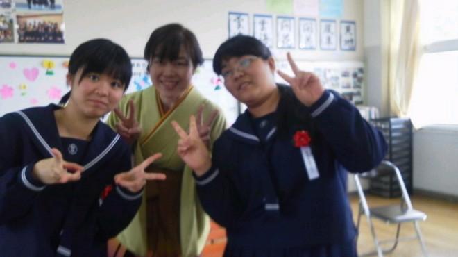 葵ちゃん!桃ちゃん!卒業おめでとう!!戸田先生、寂しくなりますね。お疲れさまでした。