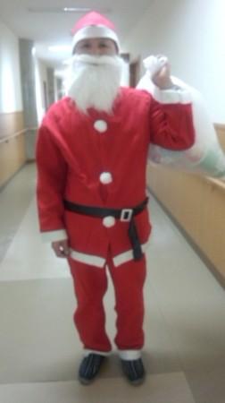 サンタさんが来てくれました。神浦の何処かにプレゼントが届くそうですよ!