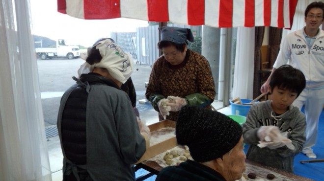 野菊の会(OBさん)にご支援いただきました。