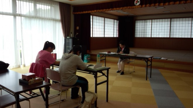 2週間の研修中です!4月6日には、新人歓迎会で、先輩と交流できました。