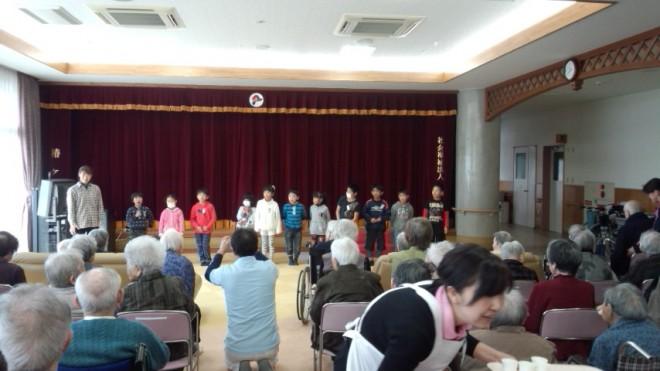 神浦小学校の1・2年生がやってきてくれました!!