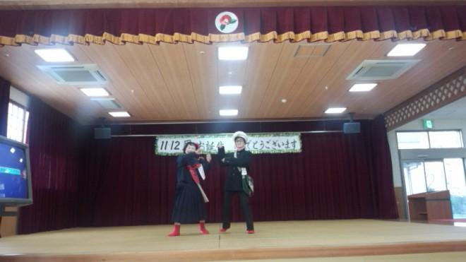 よもぎの会の方の踊り!とても楽しかったです。笑顔が最高ー!